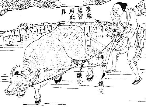 Ancient Roman Farming Tools Ancient-chinese-farming